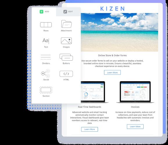 Kizen Email Builder