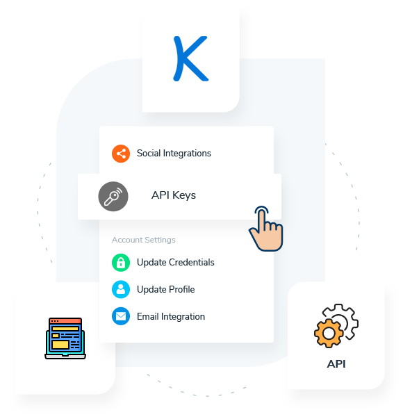 Kizen API Keys and Integration